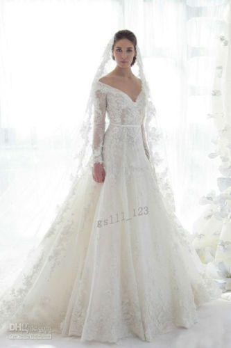 Hochzeitskleid spitze langarm