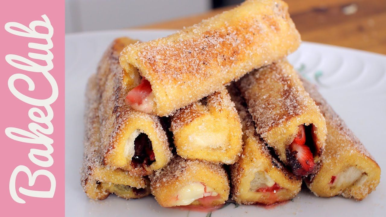 Nutella French Toast Rolls (Armer Ritter)   BakeClub