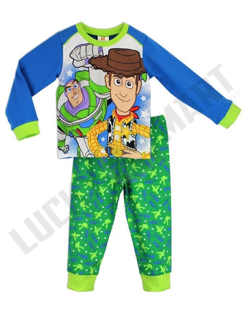 Toy Story Boys Official Kids Pyjamas Pjs Pyjama Set Nightwear Age 18m 2 3 4 5