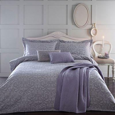 Home Collection Lilac Jacquard Georgia Bedding Set Debenhams Bed Linens Luxury Bed Bedding Set