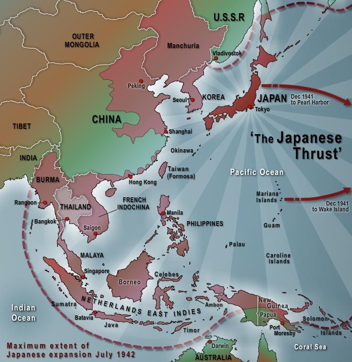 At the maximum extent of their conquests in mid 1942 the japanese at the maximum extent of their conquests in mid 1942 the japanese occupied a vast gumiabroncs Choice Image