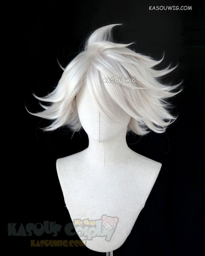 Spiky Anime Hairstyles: [Kasou Wig] Fate Apocrypha FGO Lancer Of Red Karna Pearl