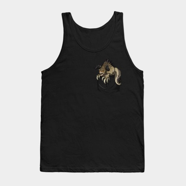 Pocket Deathclaw - Mens Tank Top