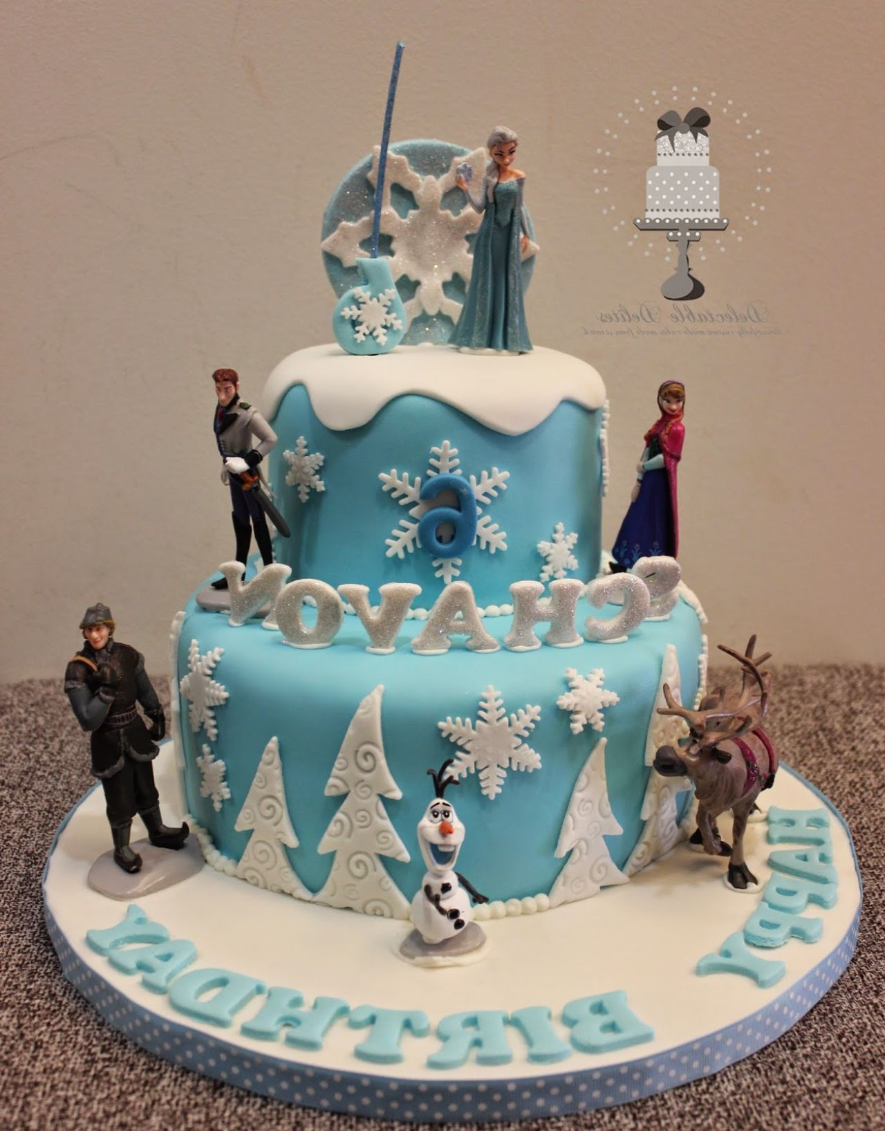 Disney Frozen Birthday Cake Pans