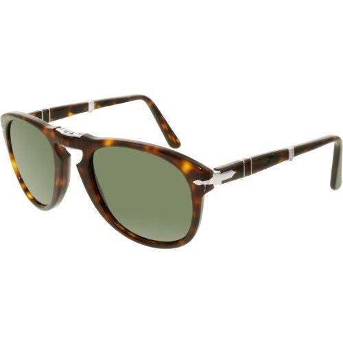 16784bddb3 Persol Men s PO0714-24 31-52 Brown Square Sunglasses
