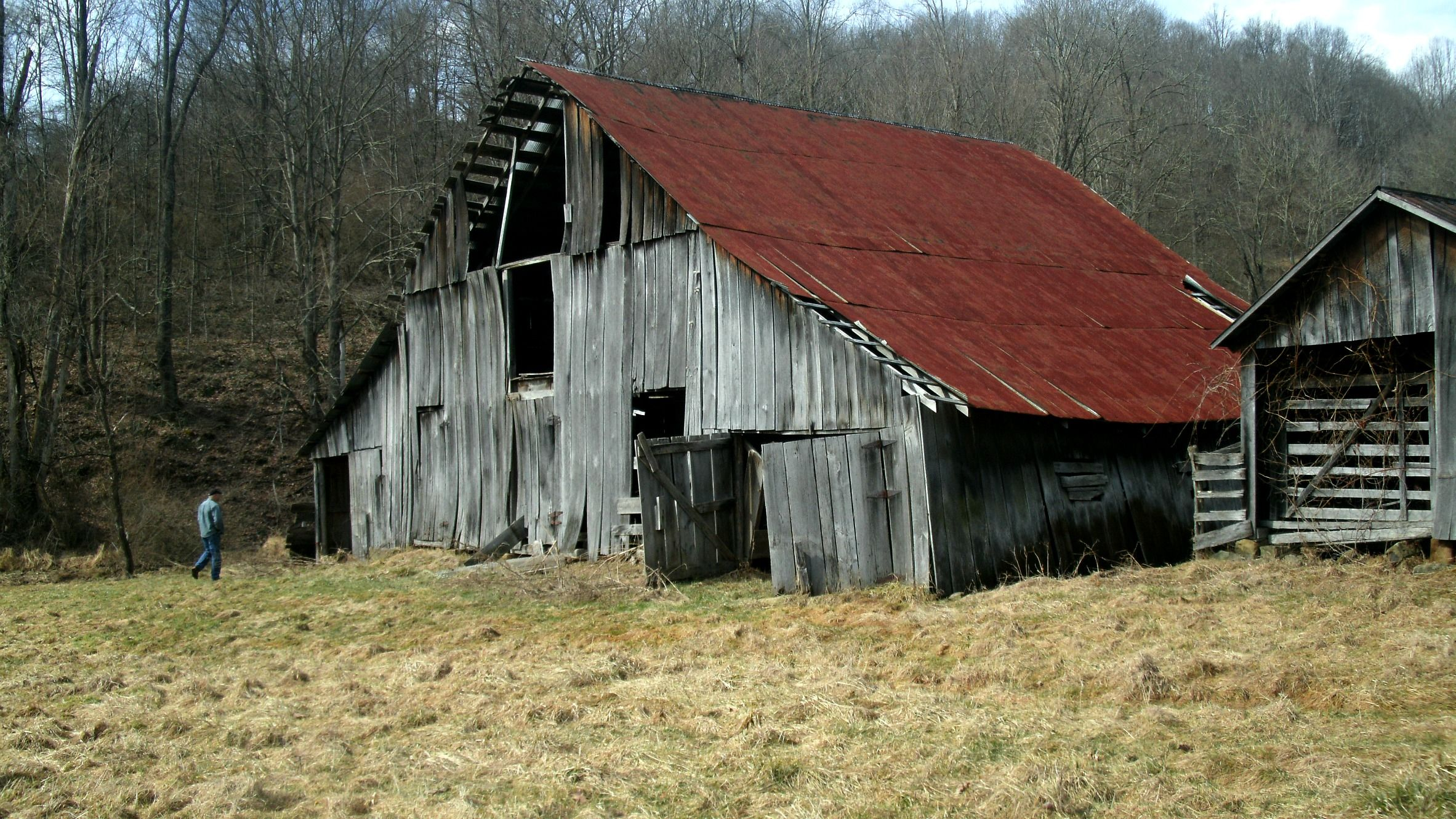 Home remodel part 1 the old barn barnwood builders and for Redesign my house