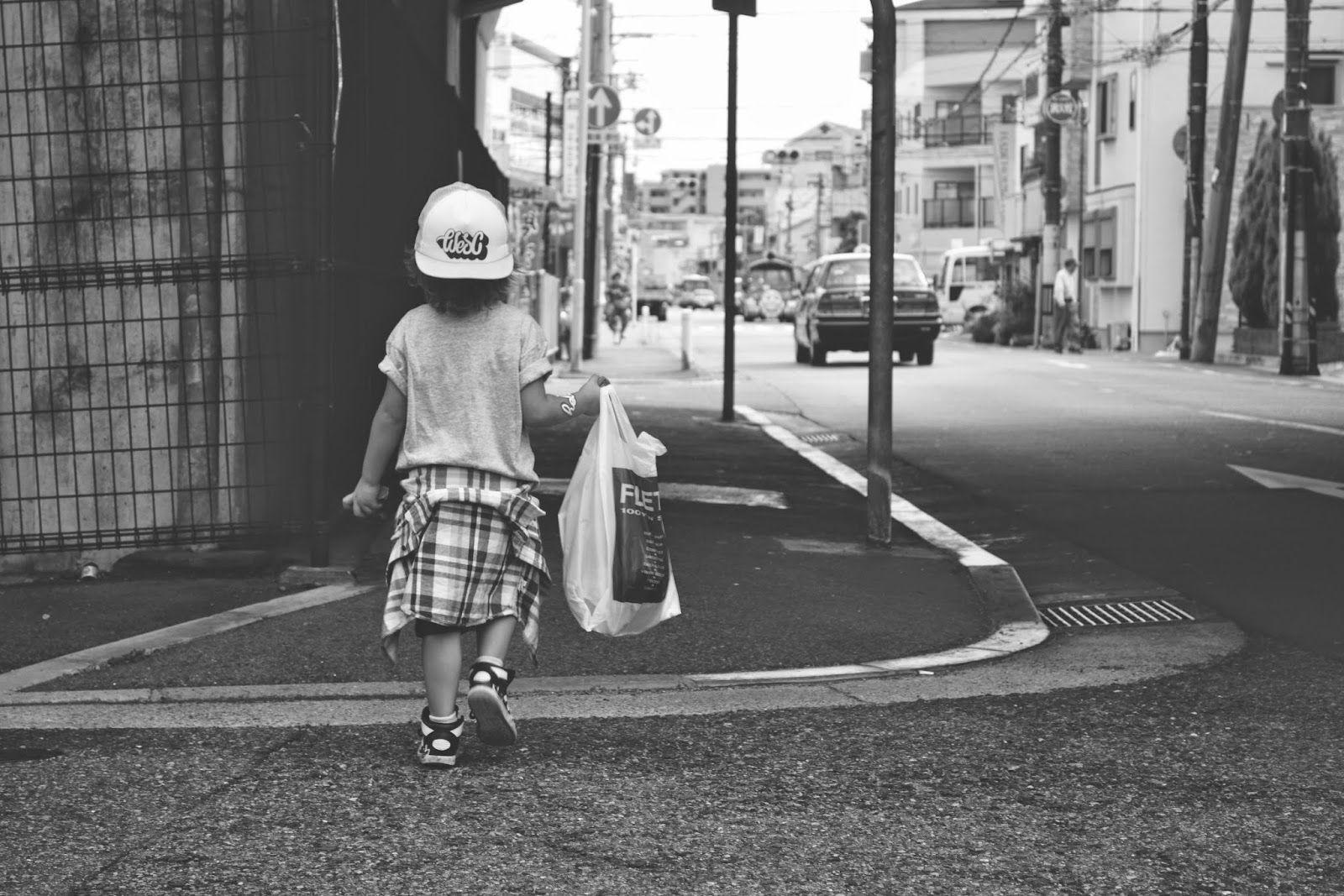 hood walks. #japan #amagasaki