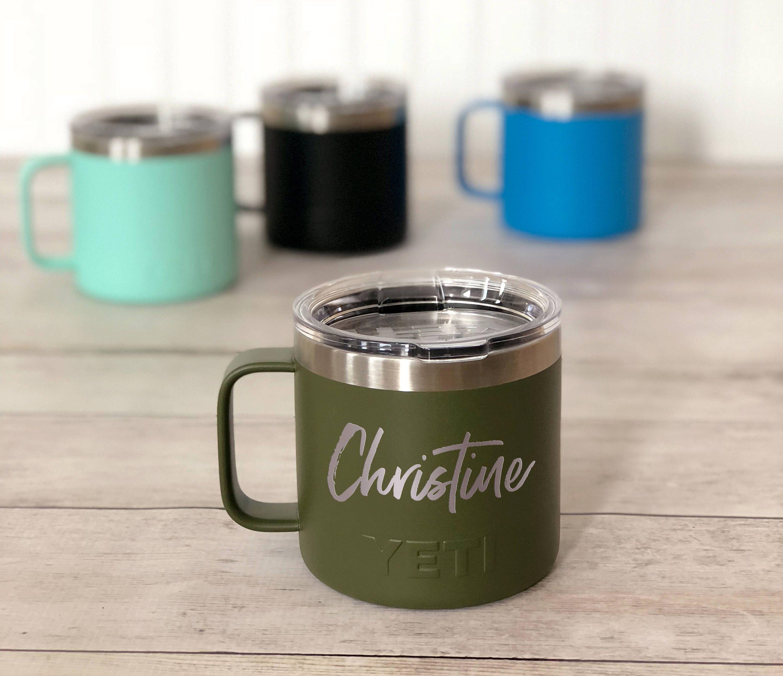 Yeti Coffee Mug Personalized Yeti Campfire Mug Powder