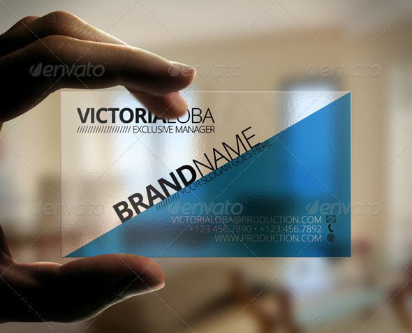 Impact transparent business card transparent business cards impact transparent business card fbccfo Image collections