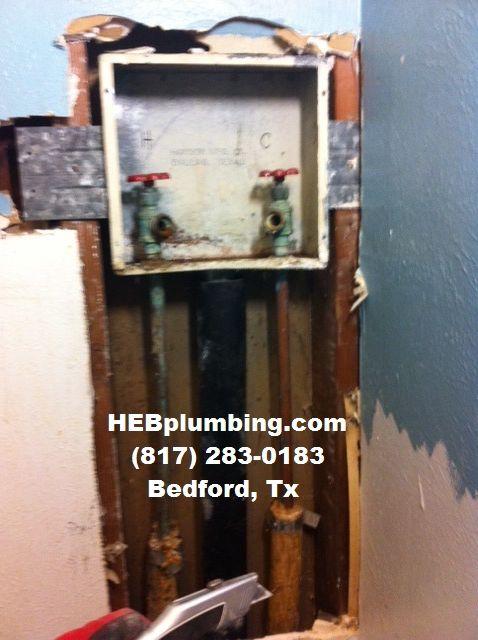 Washing Machine Box Repair http://HEB.Plumbing | Plumbing ...