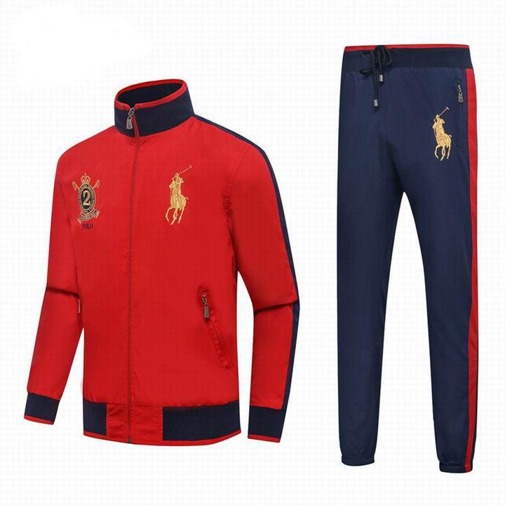 Polo Ralph Lauren Men s Tracksuit Red Blue  8214dc1bda261