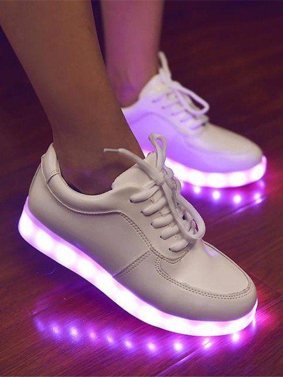 OM Light Up Bottom Sneakers | Sepatu