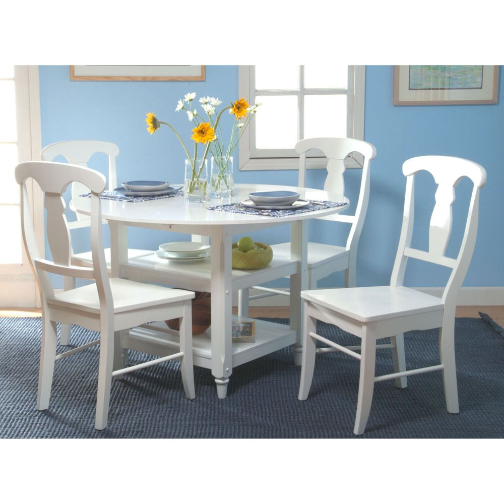 Cottage White Round Dining Table | Overstock.com Shopping - Great Deals on Dining Tables