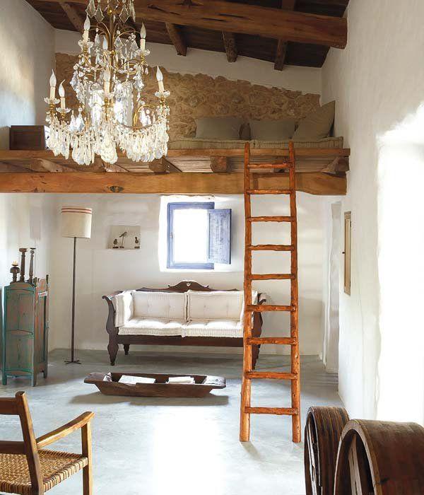 Una casa para refugiarse del estrés Interior design living room