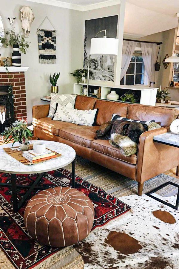 45 Best Dark Brown Leather Couch Design Ideas In 2020 Part 41 Brown Leat In 2020 Brown Leather Couch Living Room Leather Couches Living Room Brown Couch Living Room Brown leather living room decorating