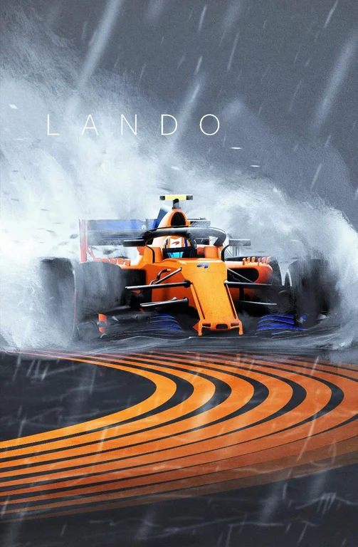 Lando Norris Background
