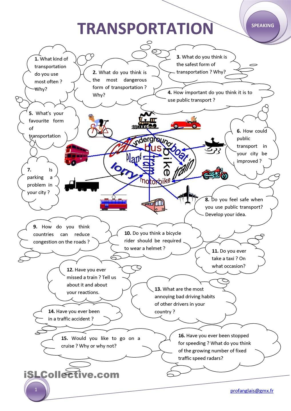 Transportation This Or That Questions Transportation Transportation Worksheet