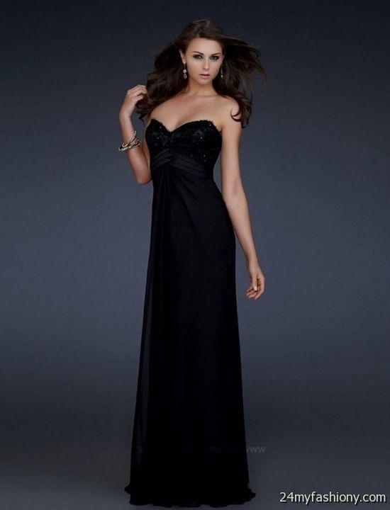 Lace Bridesmaids Dresses 2017 | black lace sweetheart bridesmaid ...