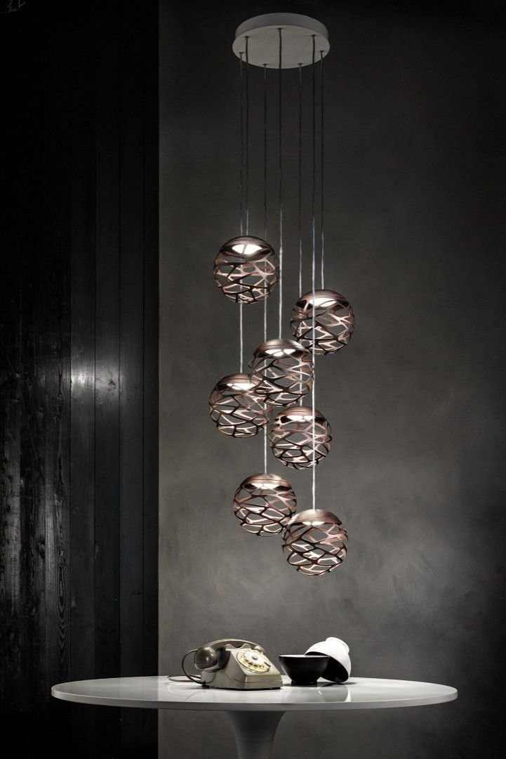 Kelly Cluster Round Multi Light Pendant by LODES | JBLC