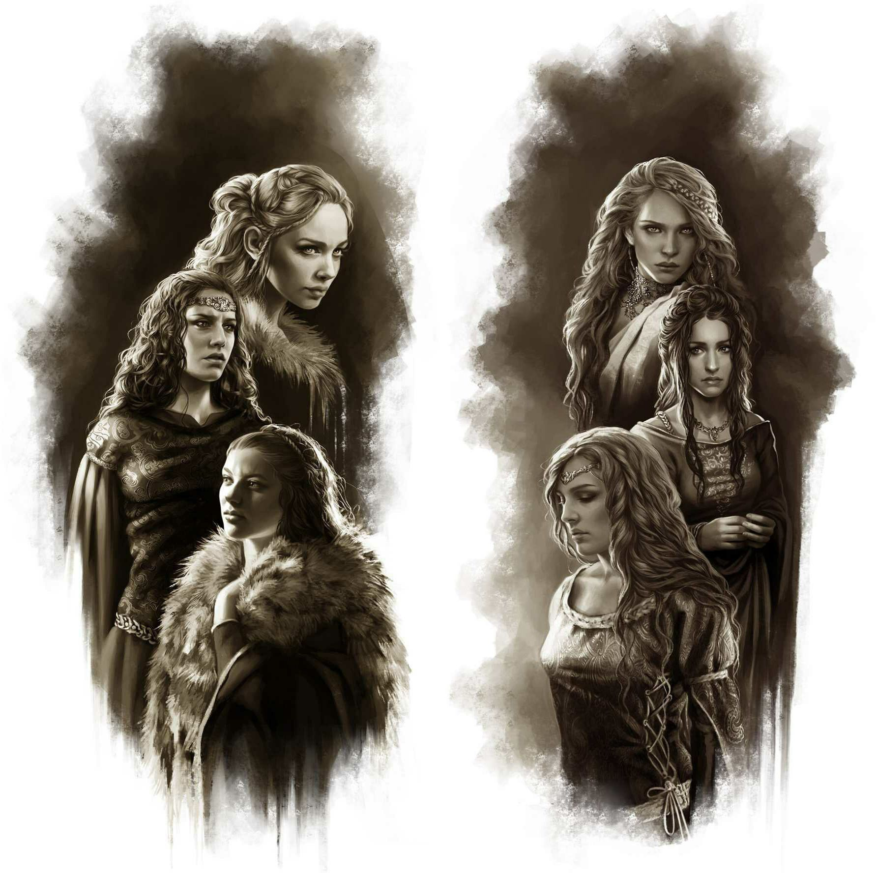 Warriors Fire And Ice Episode 3: The Brides Of Maegor The Cruel