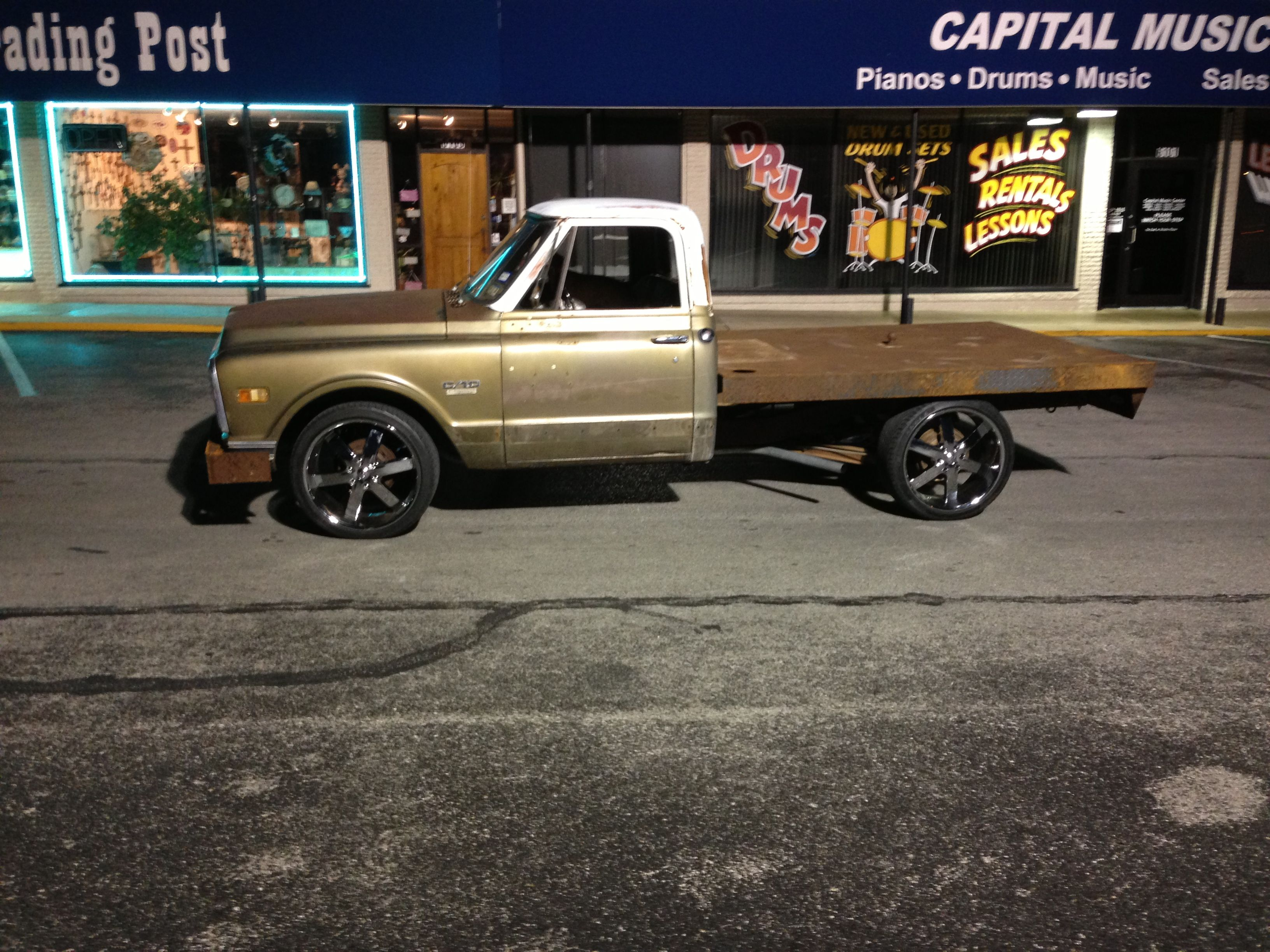 1970 chevy c10 flatbed project