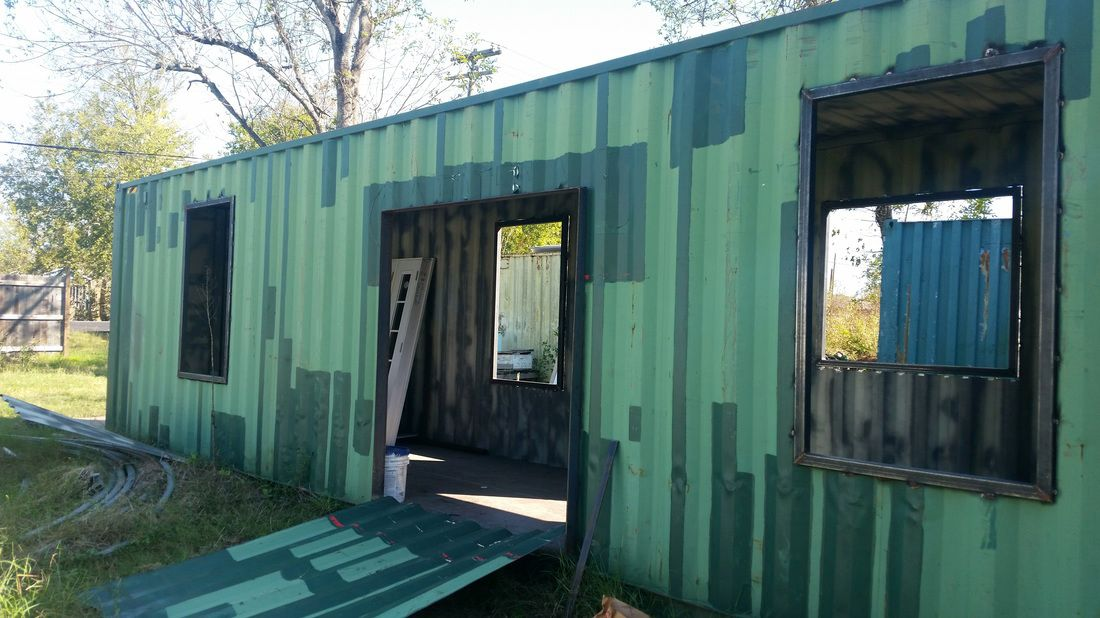 A Diy Shipping Container Home X2f Insofast Continuous Insulation Container House Container Homes Cost Prefab Shipping Container Homes