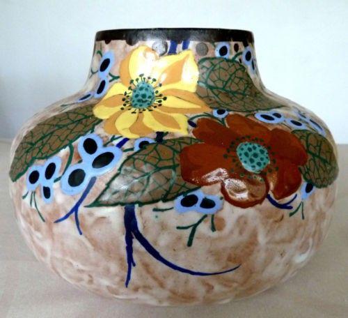 Louis Dage Vases Decor Pottery Art Vase