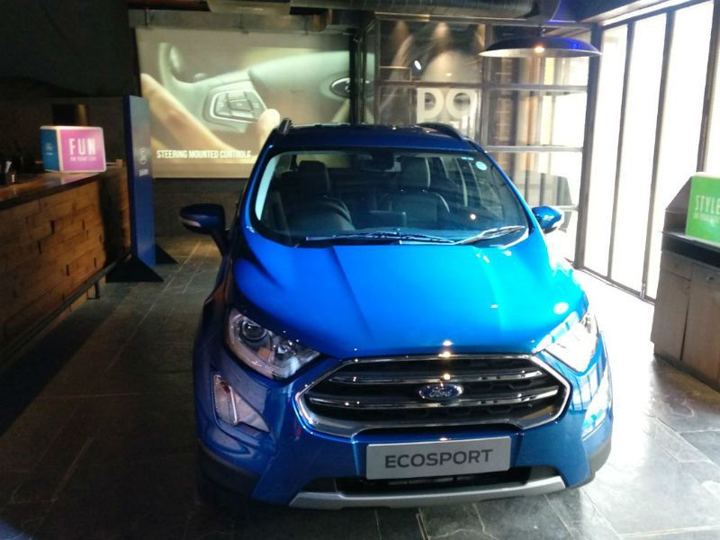 New Ford Ecosport Launched At Rs 7 31 Lakh Ford Ecosport Ford Sports Car