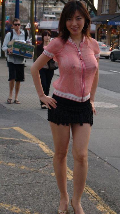 sexy public exposure