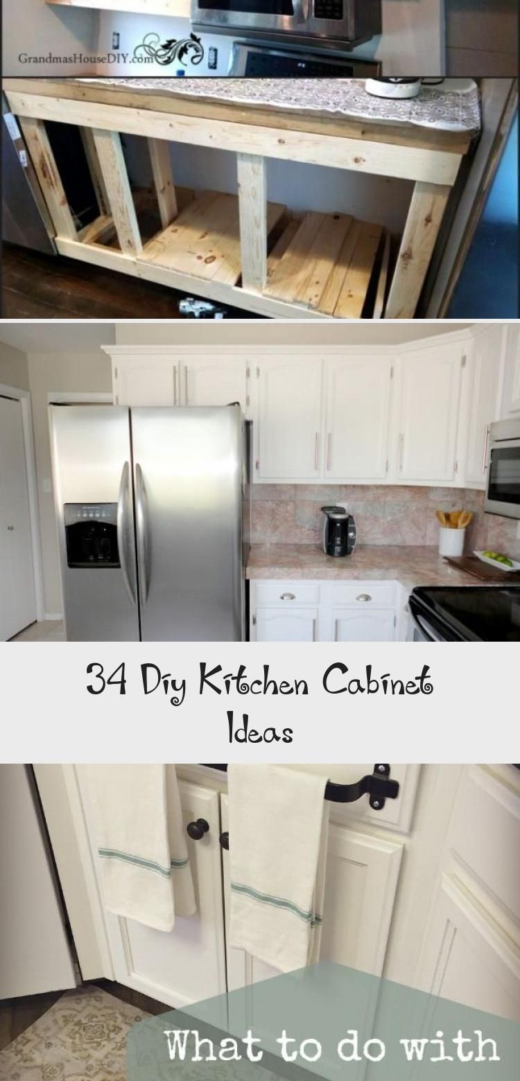 34 Ideen Fur Heimwerkerkuchenschranke Ktchn Fur Heimwerkerkuchenschrank Fur Heimwerkerkuchensch In 2020 Diy Kitchen Cabinets Diy Kitchen Framed Kitchen Cabinets