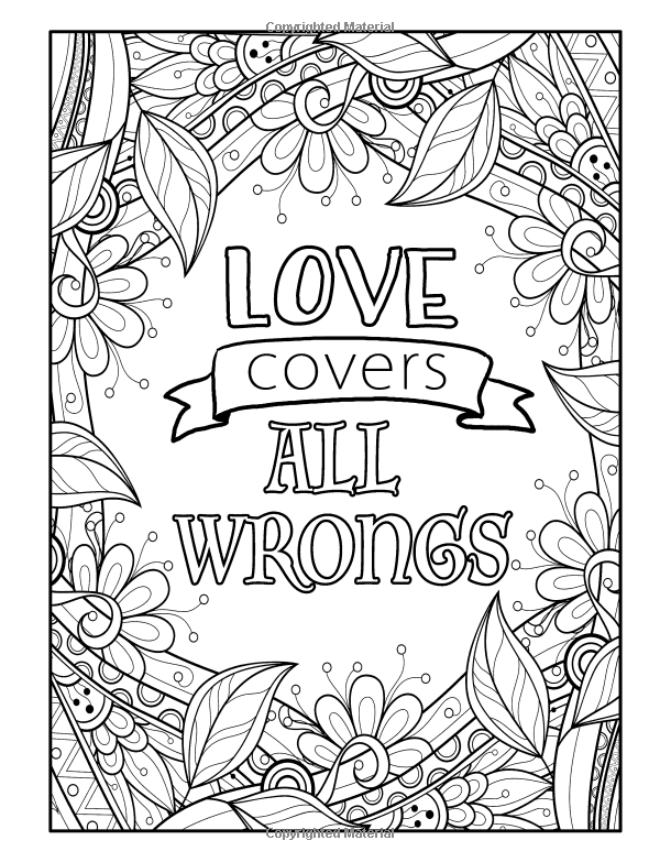 mandala coloring pages meaningful quotes - photo#8