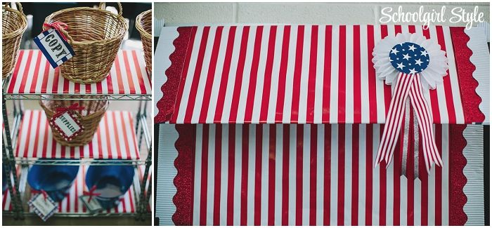 Bulletin Board Idea Make An Easy Awning On Your Boards