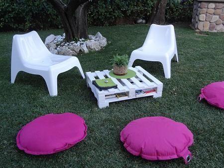 sedie e pouf da giardino   Arredamenti esterno & giardinaggio ...