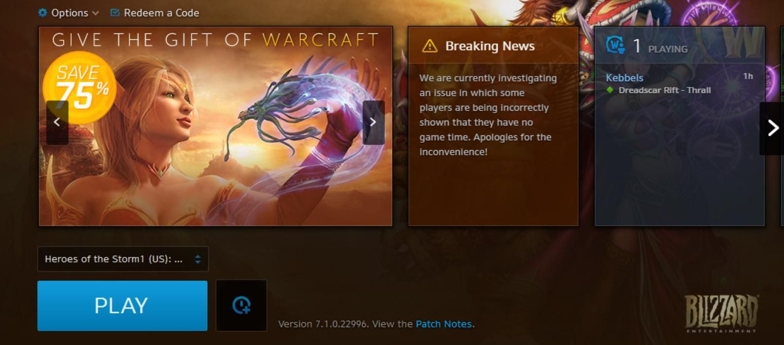 Logging Into Wow Today Was Awkward Worldofwarcraft Blizzard