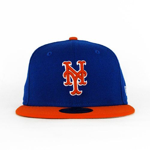 hot sale online 2fb05 b2f78 New York Mets Royal   Orange (Gray Under) 59fifty