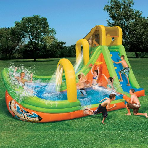 So Cool Inflatable Water Slide Water Slides Inflatable Water Park