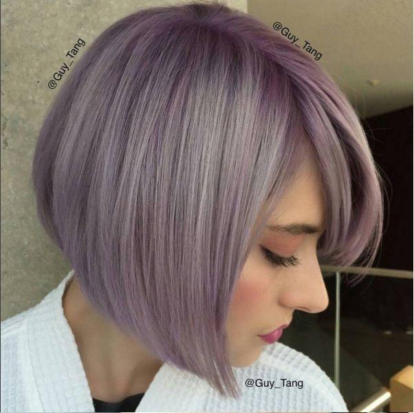 Coupe et couleur pour cheveux court