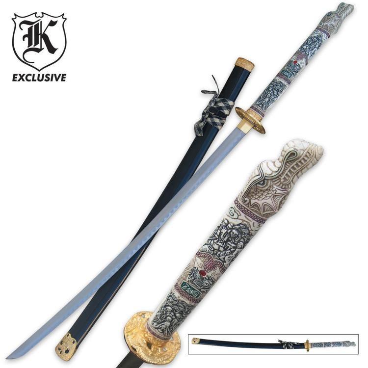 Sword Of The Dragon Samurai Ninja Katana Sword With Images