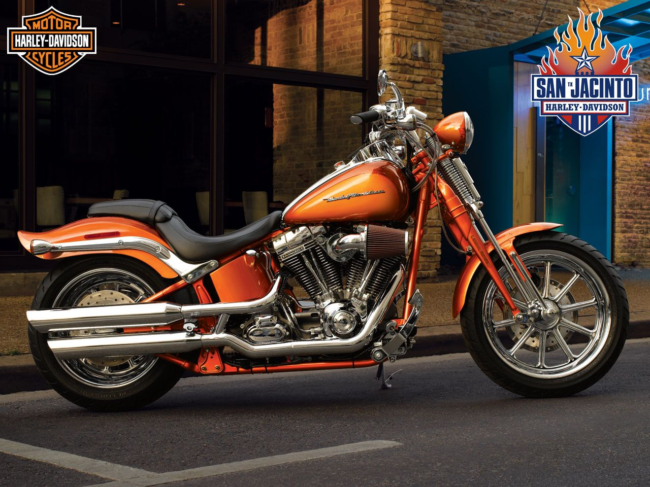 Orange harley davidson classic orange harley davidson desktop hd orange harley davidson classic orange harley davidson desktop hd wallpaper voltagebd Images