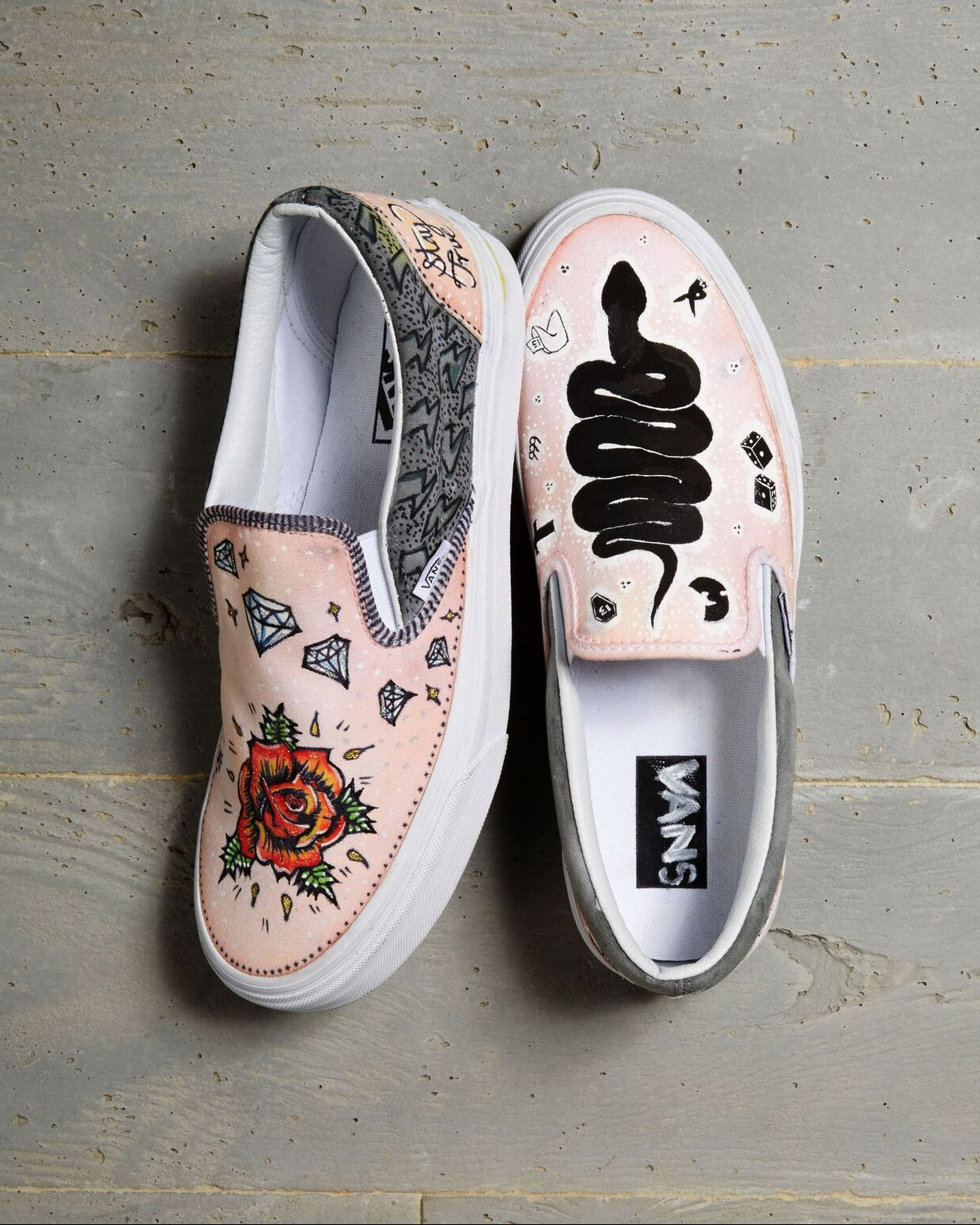 Shoes Custom Vans By 2018 Culture Elloway AmbassadorAndi ZiuOPlXwkT