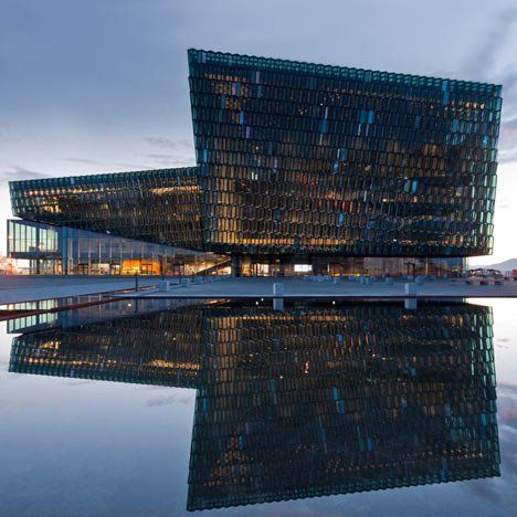 Harpa Concert & Conference Centre by Henning Larsen Architects in Reykjavik, Iceland