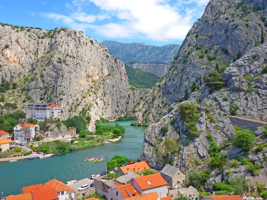 of the cetina river, Omis, Croatia Day trips