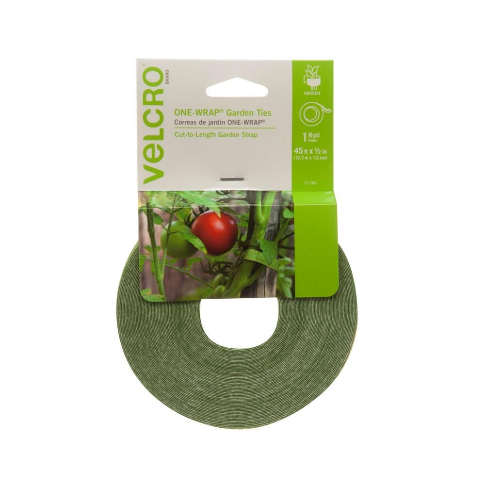 Velcro Brand 45 Ft Plant Tie 91384 The Home Depot Plant Ties