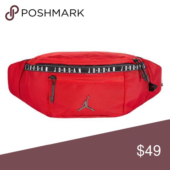 bienes de conveniencia descuento de venta caliente venta caliente Nike Jordan Ele Jacquard Belt Bag Red Nike Jordan Ele Jacquard ...