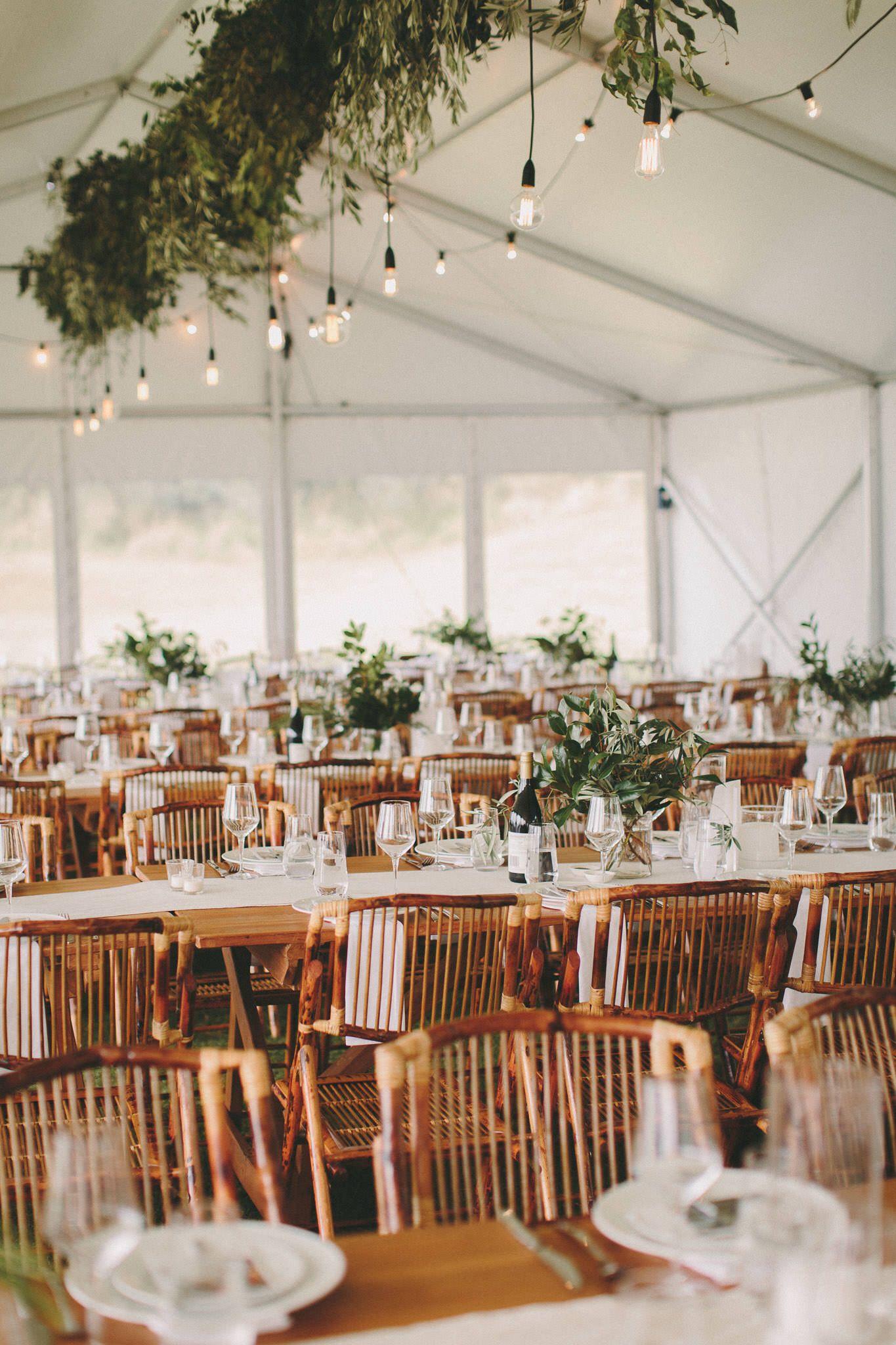 Waiheke Marquee Wedding Bamboo Chairs Wooden Table Fresh Green And White Wedding Photo Wedding Reception Chairs Bamboo Chair Marquee Wedding Receptions
