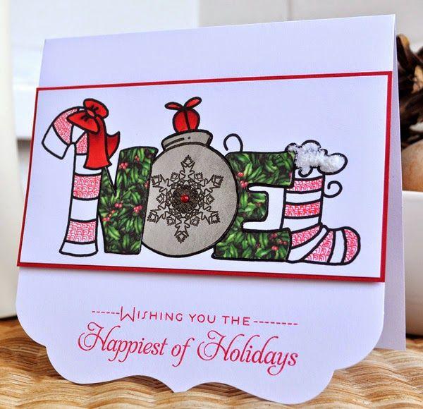 Christmas Noel card
