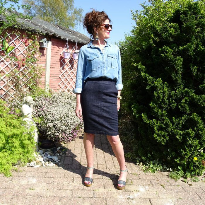 e8a35ff4086622 Two new retro blouses & Fancy Friday linkup | Top of the World Style ...