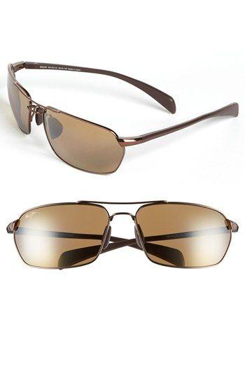 f0a5577393487 Men s Maui Jim  Maliko Gulch  65mm Sunglasses - Metallic Gloss Copper