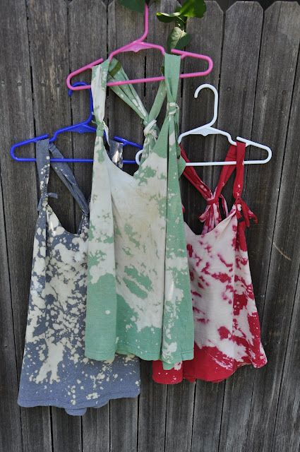 DIY Bathing Suit Cover. Made With Bleach. Can You Tell I Canu0027t
