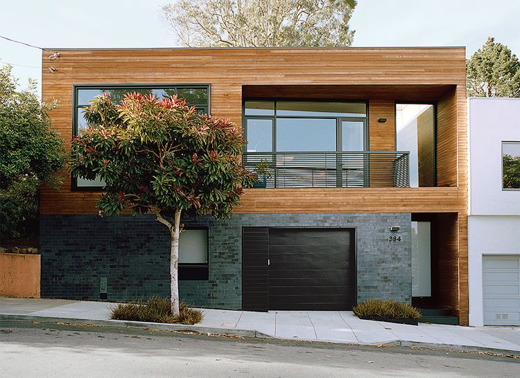 Articles About Meticulous Renovation Turns Run Down House Storage Smart Gem On Dwell Com Exterior Design San Francisco Houses Architecture